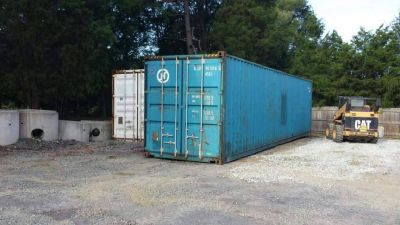 20' & 40' Used Storage Shipping Containers