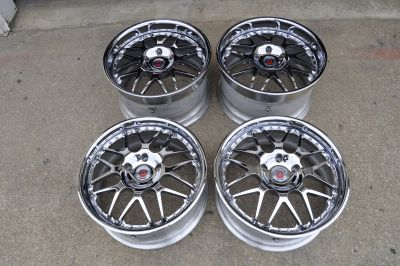 HRE 590RS wheels, 19x8.5 19x11(with spare parts)