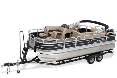 2018 Sun Tracker Fishin' Barge 20 DLX Pontoon Boats Boats Gaylord, MI