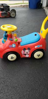 Mickey ride on toy