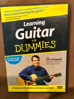 LEARNING GUITAR FOR DUMMIES DVD!