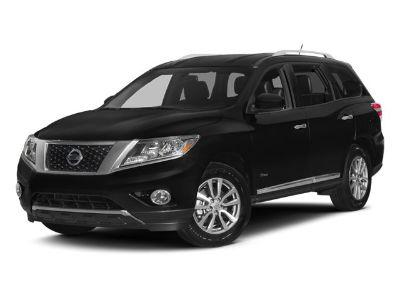 2014 Nissan Pathfinder Hybrid SV (Super Black)