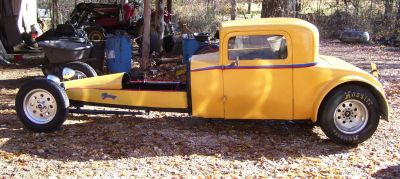 1929 dodge 3 window coupe roller..very solid car