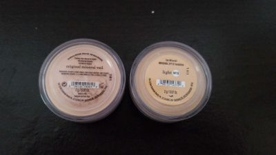 NEW!! BareMinerals foundation & mineral veil