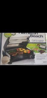 Hamilton Beach Indoor Searing Grill With Viewing Window