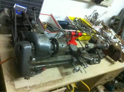 Craftsman Metal Lathe 6