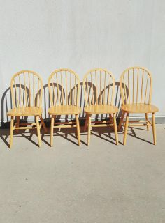 Winsome Windsor 4 Chair Set by International Furniture Design