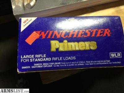 For Sale: Winchester Large Rifle Primers 1000