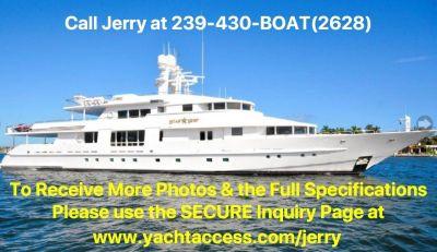 1988, 143' VAN MILL 143 Tri Deck Motor Yacht For Sale