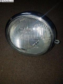 Vintage Bosch split bus headlight NOS