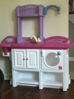 Baby doll care station