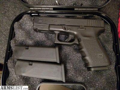 For Sale: Glock 19 Gen 3 Night sights