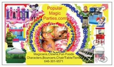 Popular Magic Parties