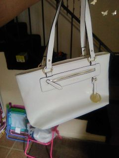 White Liz Claiborne purse