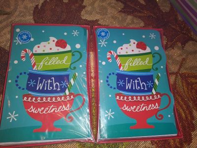 New Christmas cards 10ct