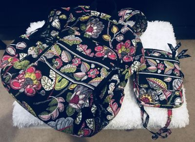 Vera Bradley backpack and matching crossover purse -$50