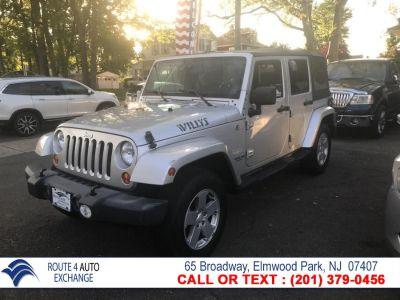 2007 Jeep Wrangler Unlimited Sahara (Silver)
