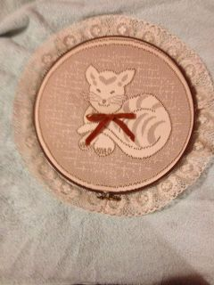 Cat Wall Hanging $3.00