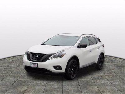 2018 Nissan Murano SL (white)