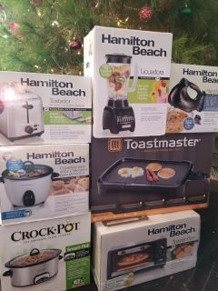 New kitchen appliances $20 each or buy all 7 for $120!!!