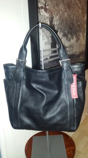 New with Tags! Large Black Merona Tote