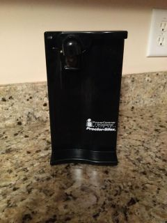 Black Proctor-Silex Electric Can Opener