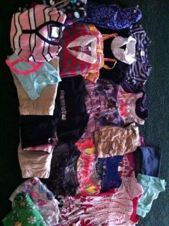 Girls size 8 medium 27 lot of clothes