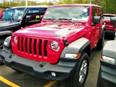 2018 Jeep Wrangler Unlimited Sport S (Red Clearcoat)