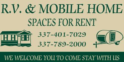 RV & Mobile Home space for rent in Pickering La
