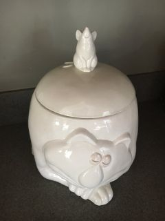Cat and Mouse Cookie Jar