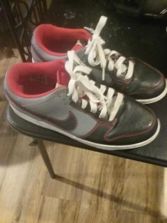 Nike all leather men's shoes size 10 Never Worn