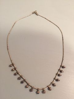 """16"""" Sterling silver necklace"""