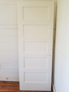 ISO 5 panel wood doors in many sizes