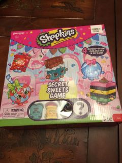 Shopkins. Game. Never opened