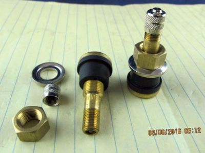 Find (25) TR-501 1 Brass Truck / Trailer Tire Valve Stems ALUM/STEEL Wheels [A3S2 motorcycle in Novi, Michigan, United States, for US $28.50