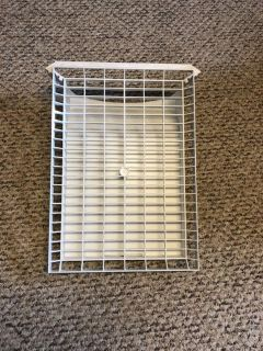 Shoe rack for the dryer. $3.00