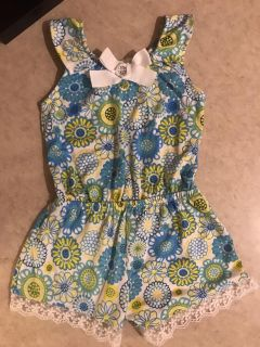 Nanette Cute Romper Girls Size 2T Great Condition $2.00