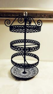 Rotating Jewelry Display, Stand and Holder