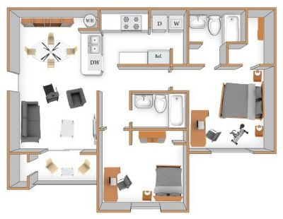$1542 2 apartment in Kendall