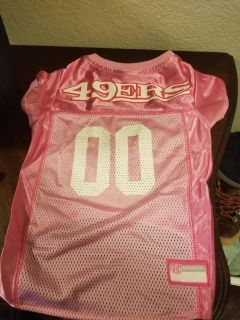 Size Large 49ers Jersey For Your Pet