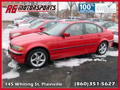 2005 BMW 3-Series 325i (red)