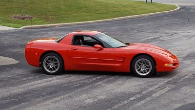 1999 C5 CHEVY CORVETTE HARD TOP COUPE FRC