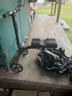 Knee Scooter and Quad Cane