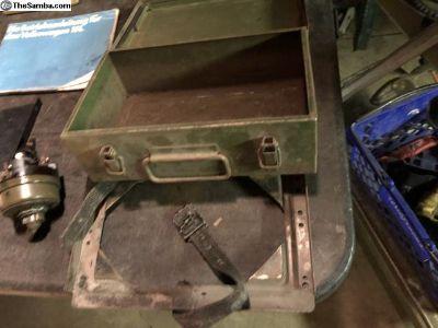 Metal First Aid Kit w mounting bracket