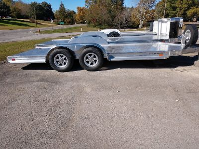 2019 Sundowner 19' All Aluminum Open Car Trailer with Spare