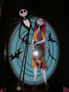 Nightmare before Christmas hard cover journal w/stickers