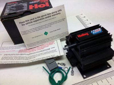 Purchase NOS Holley Laser Shot high performance Ignition coil original packaging #820-200 motorcycle in Kansas City, Missouri, United States