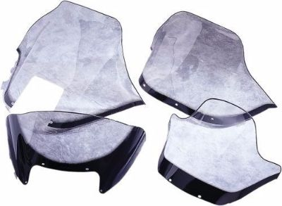 Sell SNO STUFF WINDSHIELD STD 17in. HIGH SMOKE W/GRAPHIC A/CAT 450-176-03 40-1763 motorcycle in Salt Lake City, Utah, United States, for US $79.95