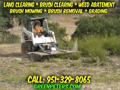Affordable Land Clearing & Weed Abatement Services - Call Us