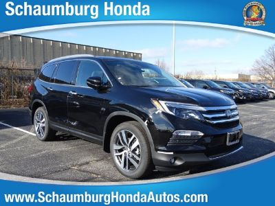 2017 Honda Pilot elite (NH-731P/CRYSTAL BL)